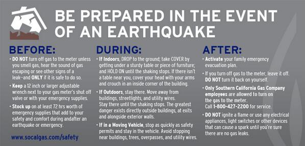 Thank you for unifying greater Los Angeles County area #earthquake messaging by using: #LAquake http://t.co/Kb2jWuE4Ku