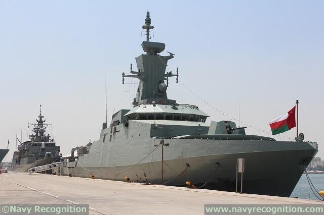 """الكورفيت الثاني """"الرحماني"""" من الفئة (خريف) يصل إلى عمان Bj40q4pCYAAayGH"""