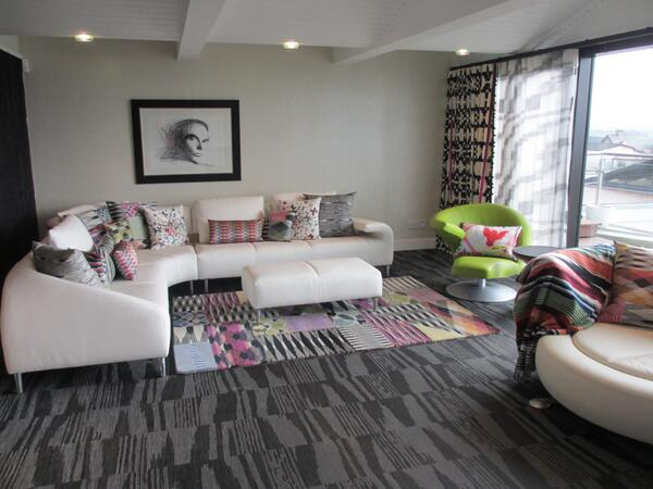 """@AdrianInteriors: Clients new room completed yesterday - @Missoni Heaven !!! @PizziHK  @AbbottandBoyd http://t.co/NXDubq3dx5"" lovely!!"