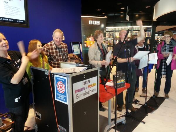 Want to be in a specially written Archers ep? Well, you can! Today at @LibraryofBham, Level 3 #characterinvasion http://t.co/dB78YvvXpy