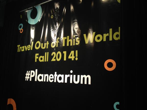 It's official!!  #planetarium http://t.co/J6W7FAhAJq