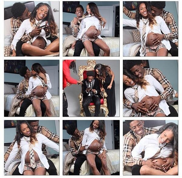 Rich Homie Quan and his baby mama | Lipstick Alley