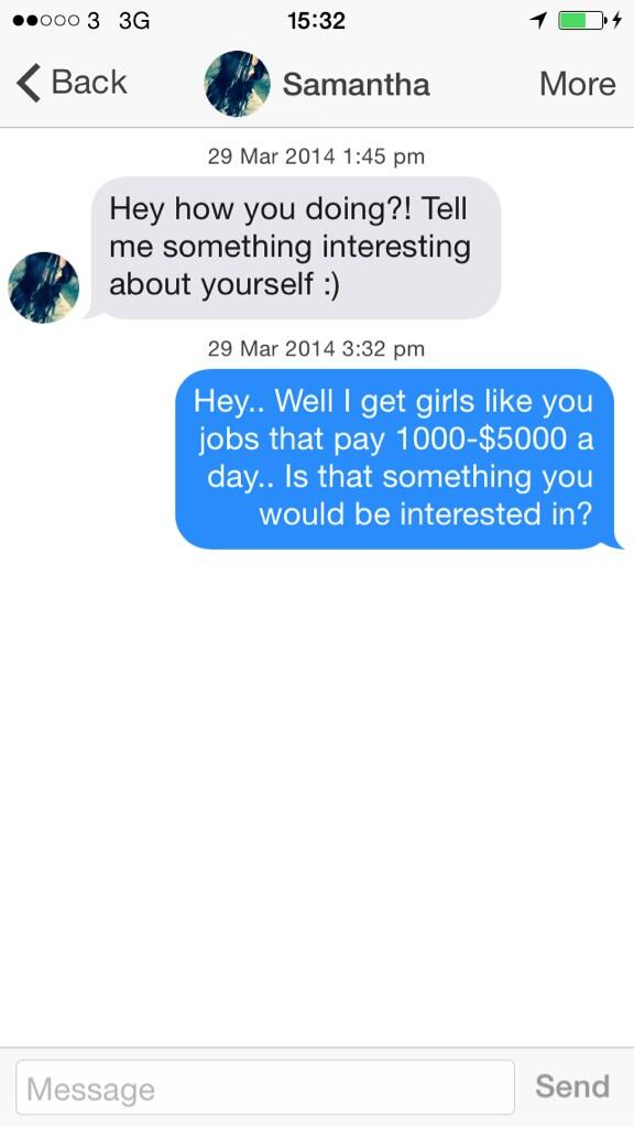 Flirten opener