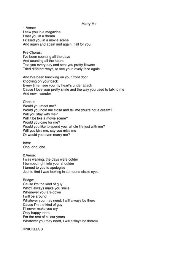 just the way you are just a dream lyrics