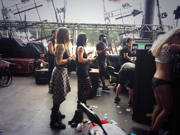 Krewella is about to take the mainstage #ultralive #ultra @umftv http://t.co/mArNgtBSmP