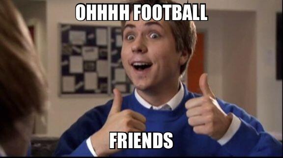 Image result for Football friends