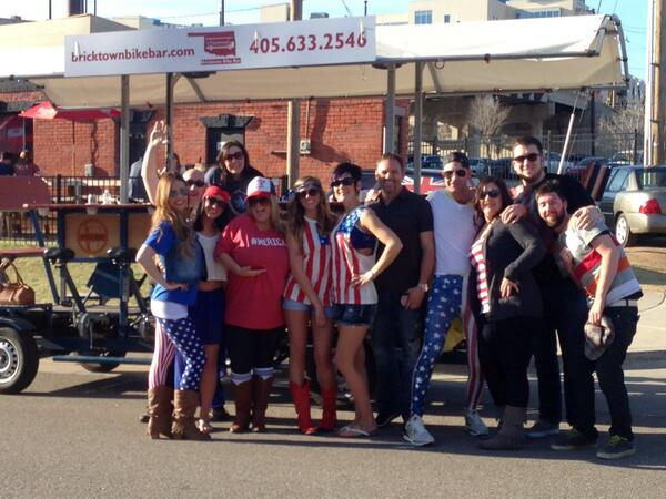 Bricktown Bike Bar On Twitter It S A Beautiful Day For A Tour On