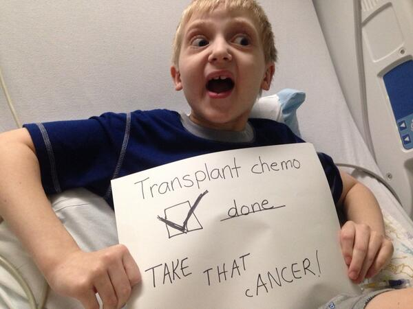 No more chemo, ever. We are beating it this time! http://t.co/TRaMB9yBiT