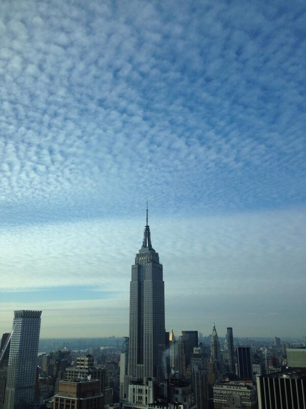 In an Empire State of Mind this morning #esb #nyc http://t.co/KvjrsMSLdC