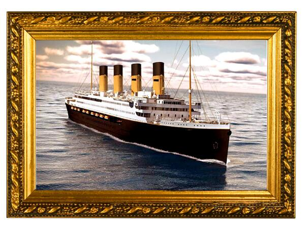 This animated Picture of The Titanic II shows you Just exactly How Things Will Look When Its Been completed. http://t.co/OMKhWL7fvU