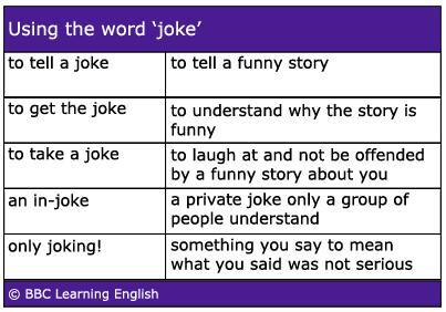 Word for joking about something serious