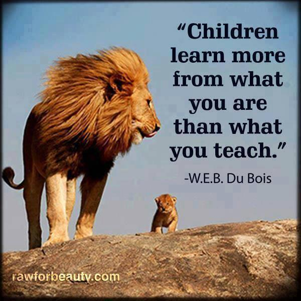 "Quotes About Kids Learning: Wright Thurston On Twitter: """"#Children Learn More From"