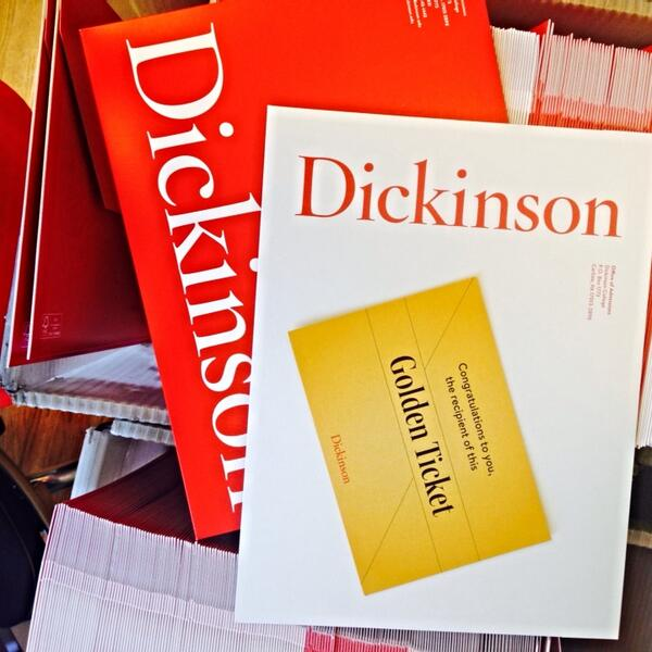 Accept packet assembly for #Dson2018 regular decision begins! These letters will proudly wear the red and the white! http://t.co/ZWtTA1UB2T