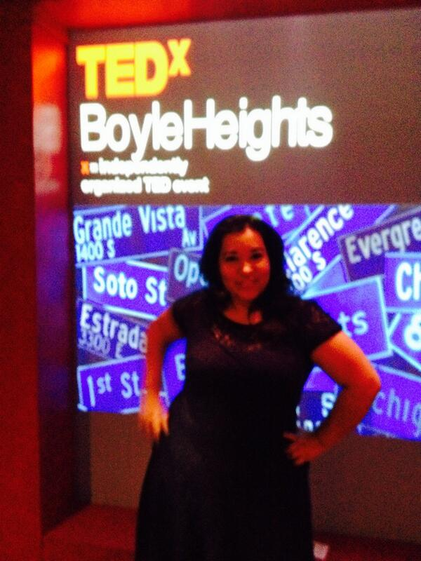 @TellMeMoreNPR #NPRWIT Had the honor of speaking at @TEDx #tedxboyleheights this past Sat #womenintech #womeninSTEM http://t.co/WTAWkSaR5T