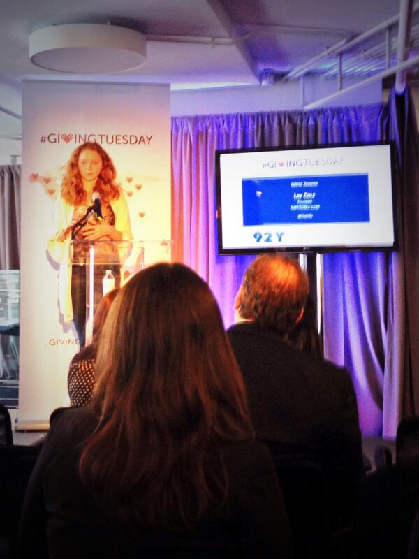 #GivingTuesday summit: @lilycole, founder of @impossible, new social platform for #giving & receiving http://t.co/TDJ9byGFWU