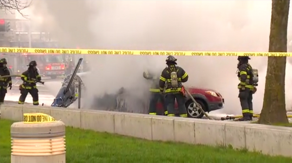 Watch: Scene footage following deadly helicopter crash - http://t.co/AiDtjg1pwc http://t.co/N8EgqM7DpY