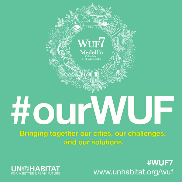 Let's use #WUF7 to share ideas and best practices. Join the discussion on #cities, contribute your pics using #ourWUF http://t.co/Sp4fV1JnIu