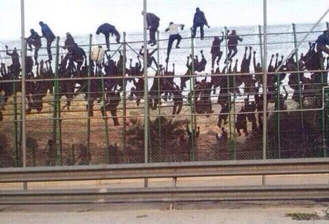 Actuaciones de la guardia civil en Ceuta