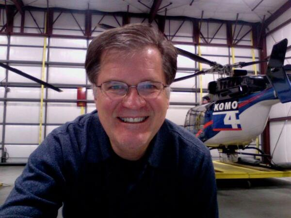 We're sharing the life & love of Bill Strothman #liveonkomo. He was today's camera operator in Air 4: http://t.co/e8XBnAwWQH