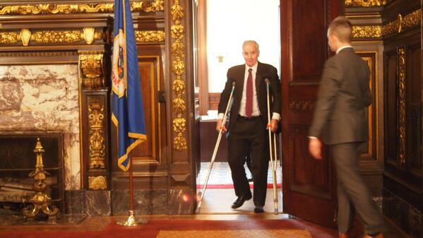 Thumbnail for Gov. Dayton Returns to Capitol to Lecture Lawmakers on Tax Bill