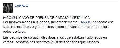 Carajo On Twitter Comunicado De Prensa De Carajo