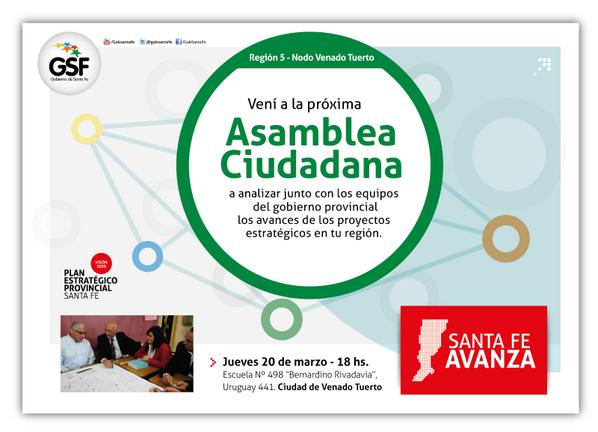 #AsambleasCiudadanas mañana jueves 10 a las 18 en Venado Tuerto! http://t.co/byw09QIxWT