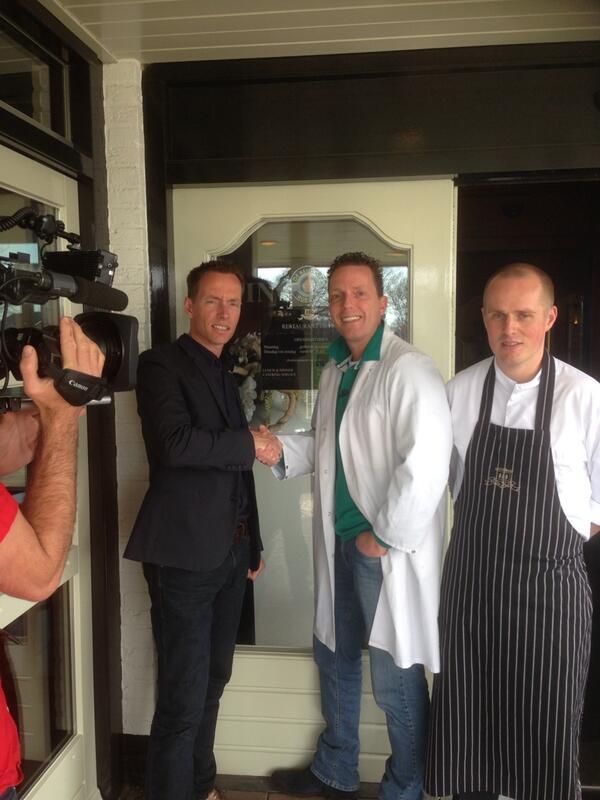 Restaurant De Hof in Renswoude heeft de Keus Van Rob Geus binnen !! # trots http://t.co/T58P4HUzsC