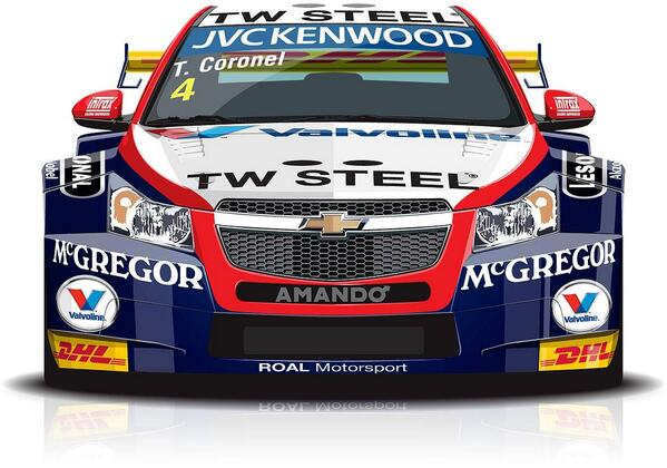 My racing Hero! FIA_WTCC: The official livery of @TomCoronel, with @RMLGroup, has been  unveiled! #WTCC http://t.co/lVWZ1Aq8yY""