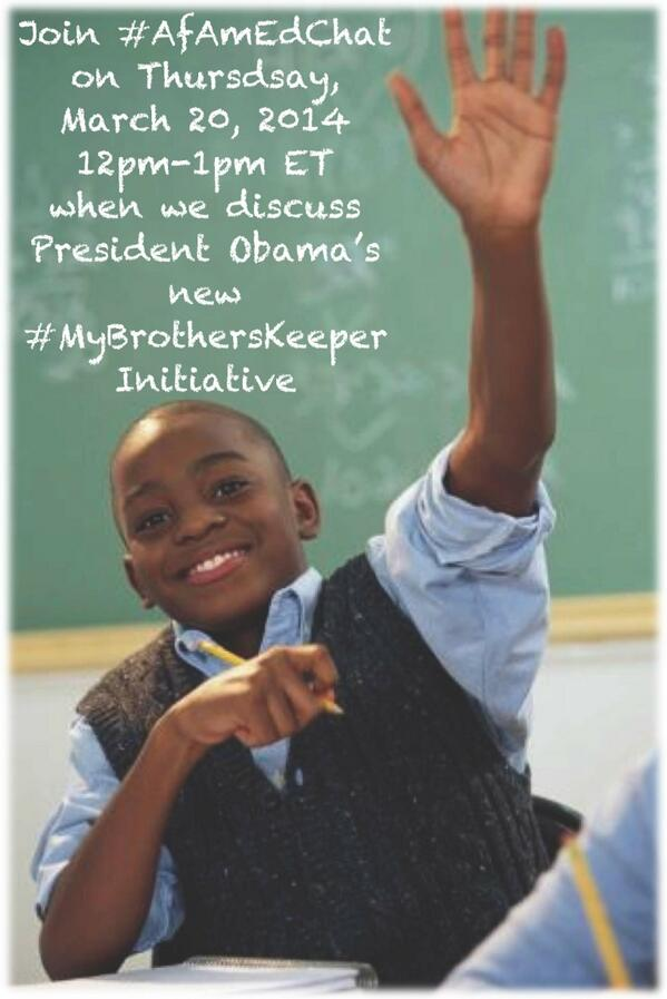 Discussing President Obama's My Brother's Keeper Initiative | The White House: http://t.co/k15sOLOMpO @whitehouse  http://t.co/j05N3iKT3x