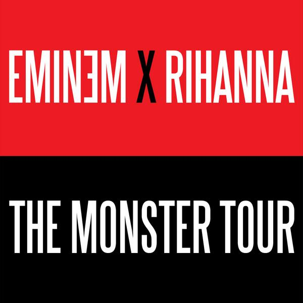 BREAKING: Rihanna + Eminem form #TheMonsterTour - 1 west coast show @ Rose Bowl 8/7, RSVP: http://t.co/048VepBca5 http://t.co/FLhTf5DD51