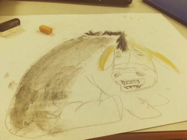 Otro boceto fallido... #quenipintado #colegiobase #Greco2014 http://t.co/SlbRbj90ld