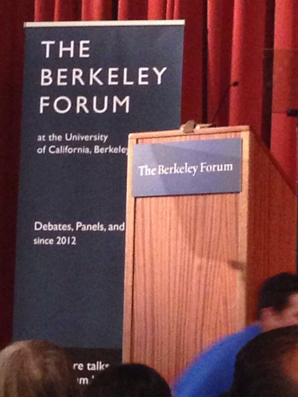 Stay tuned during #RandatBerkeley for updates. Starting momentarily http://t.co/vVVMFCvdwB