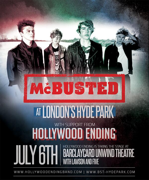 hollywood ending mcbusted hyde park