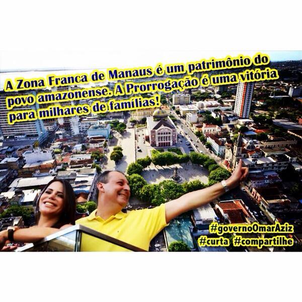 O Polo Industrial de Manaus é um dos mais modernos d América Latina #zfmmais50anos #governoOmarAziz #governoAmazonas http://t.co/u04x68yKa4