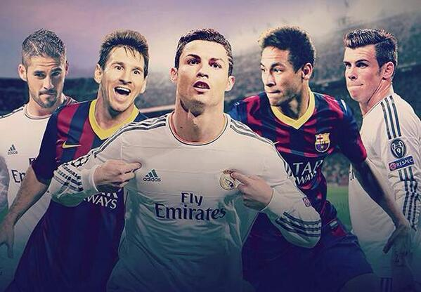 El Clasico! Watch a Live Stream of Real Madrid v Barcelona (La Liga, March 23, 2014)