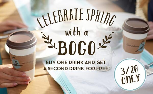It's the last day of winter…technically. Celebrate the arrival of spring with a BOGO, tomorrow only! http://t.co/vmw4M4vS6t