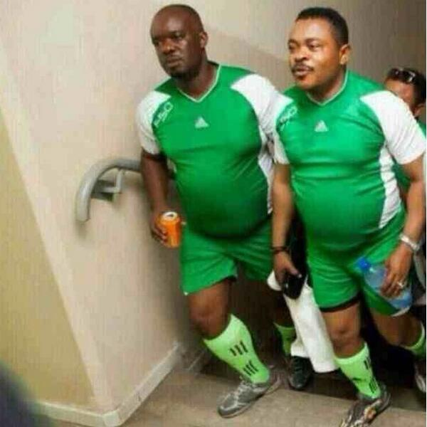 Nigeria's under 17 youth squad training session http://t.co/vUbmvEFhZi