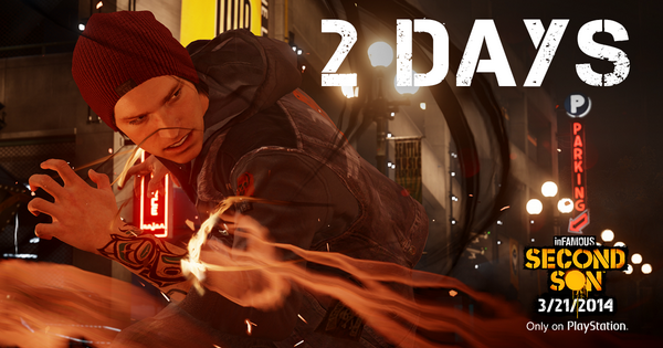 Seattle, DUP, Smoke, Neon… and more are only 2 days away! #SecondSon http://t.co/I9J6p64wEc
