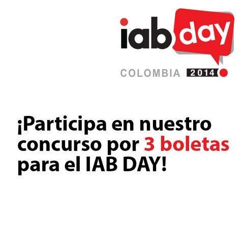 @iabcolombia Yo quiero ir al  #IABDAY2014 Please RT http://t.co/VIQNe1MOi2