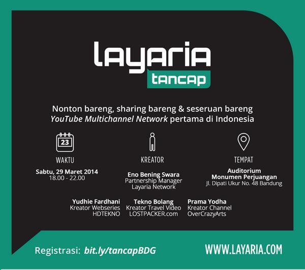 layaria network tancap bandung | MMufidluthfi
