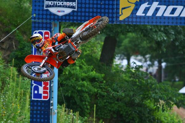 #WhipItWednesday - @promotocross rider @kenroczen94 with a stylish whip at Spring Creek last year. http://t.co/EOcckhrRCR