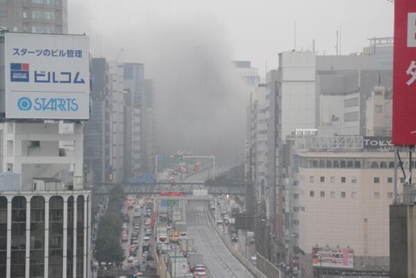 【速報】首都高3号線で火災。 pic.twitter.com/T2a436Nj4E