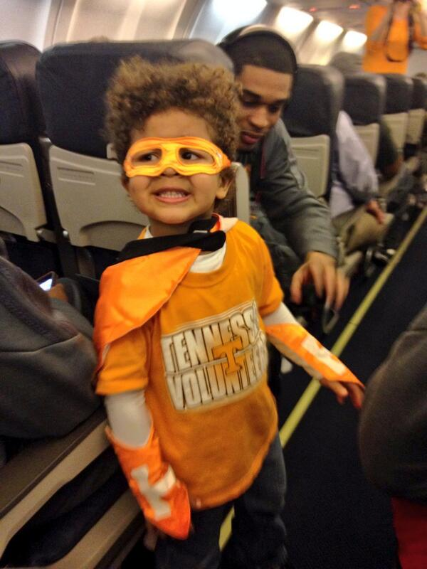 Action Jackson! Coach @JonJ_Harris son is a Volunteer superhero, ready for takeoff! http://t.co/ifWFxFY23N