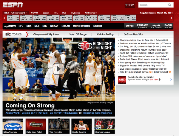 More front page coverage from http://t.co/2SfcDGRQEG for #Vols http://t.co/1DX5GdZSpK