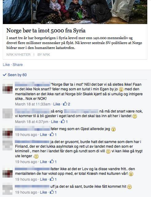 Jeg ville heller hatt 5000 fra Syria i landet, som sannsyligvis kommer til å dø hvis de ikke får hjelp, enn disse to. http://t.co/pSkgNbW5w0