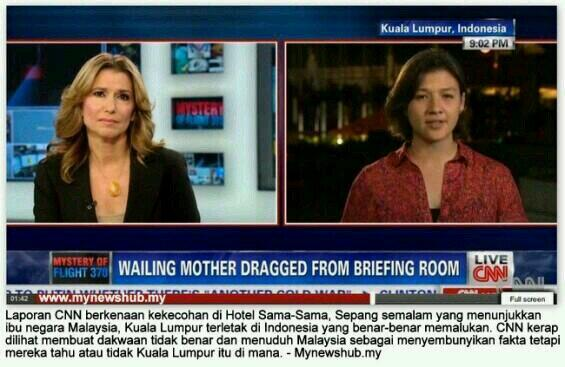 CNN is very good in criticising others yet failed in geography. Kuala Lumpur,Indonesia? @dwi_anggia @yoyicarrillo http://t.co/O2EzsAhY8V