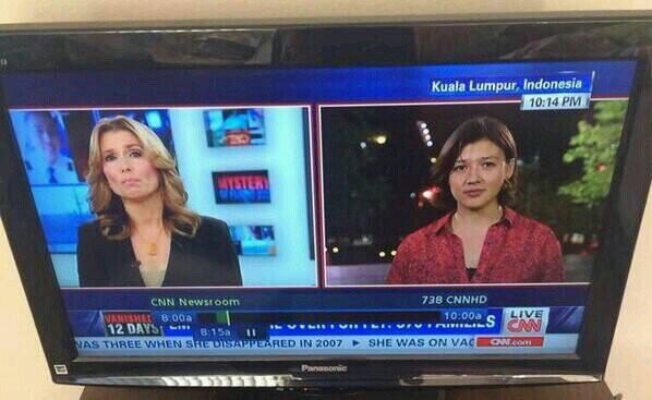 [Malon terguncang] CNN: Kuala Lumpur ada di Indonesia