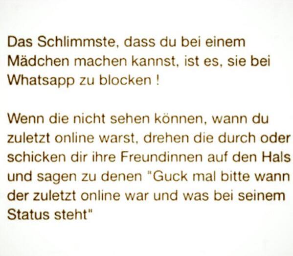 Whatsapp Status Blocken How To Check If Someone Blocked