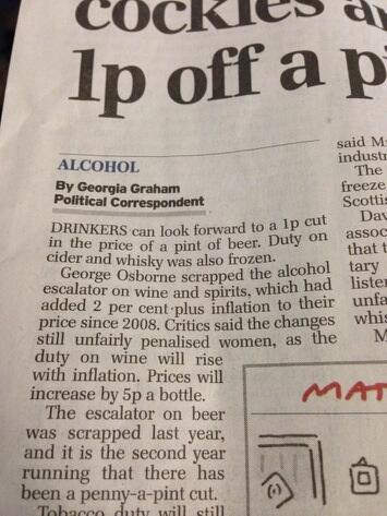 I mean What the actual F***?!?! This is a national news paper. Men can't drink wine. They're allergic. Obviously. http://t.co/uB1xhHHmpm