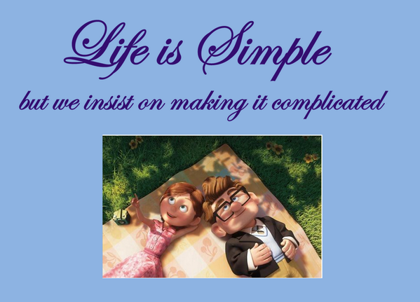 Keep it simple, how difficult is that? http://t.co/pCmhdXERiT